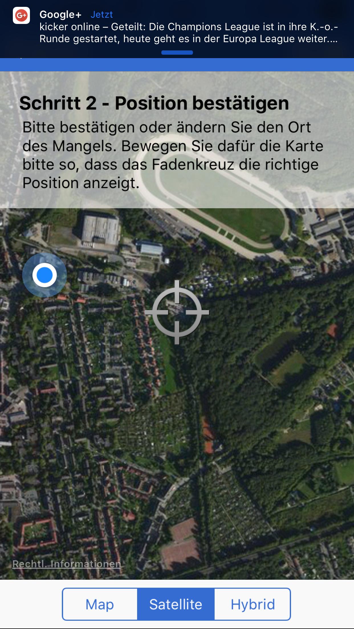 GE-meldet App