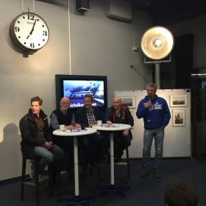 """Ausstellung """"Schalke in alten Bildern"""" - Gesprächsrunde bei der Eröffnung"""